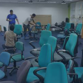 chair cleaning in vadodara - Services