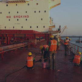 ship cleaning service in gujarat - Services